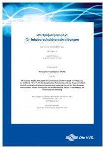 VVS-Wertpapierprospekt-Titel