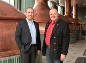 Oliver Stahl und Dr. Johannes Fischer (Umweltbeauftragter der Paulaner Brauerei) (c) EnerNOC